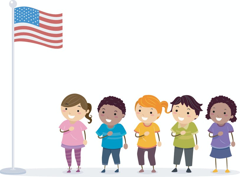 """Should """"under God"""" remain in the pledge of allegiance in public schools?"""