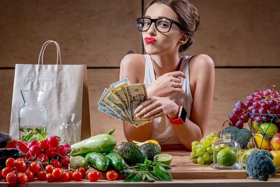 Is it more expensive to eat healthy?