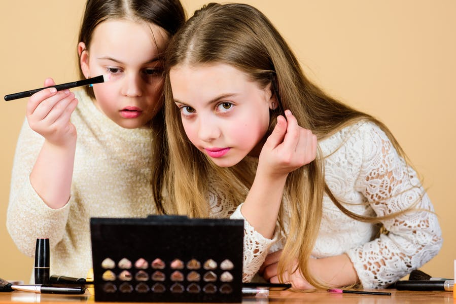 Is it ok for children to wear makeup?