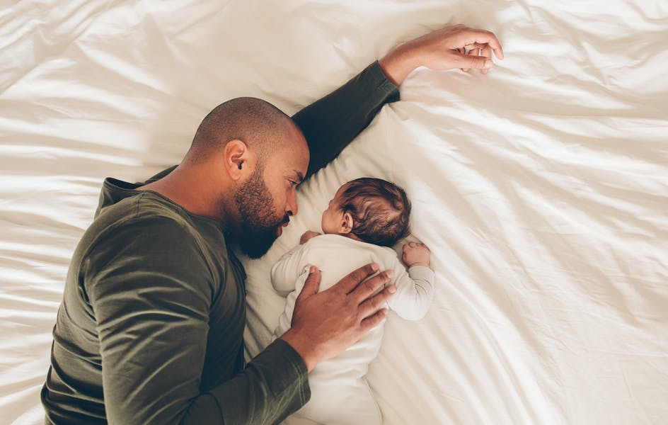 Is co-sleeping with your child a good idea?