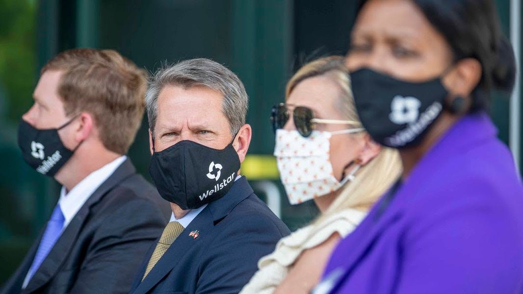 Is Georgia Gov Kemp right in his decision to forbid cities and counties to require facemasks?
