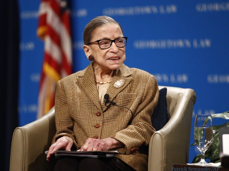 Should Justice Ginsburg step down in light of her cancer returning?