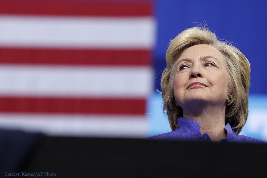 Is Hillary Clinton urging Biden not to concede a good idea?