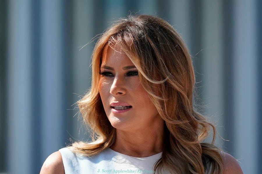Was it wrong for Melania Trump to use her private email for White House business?