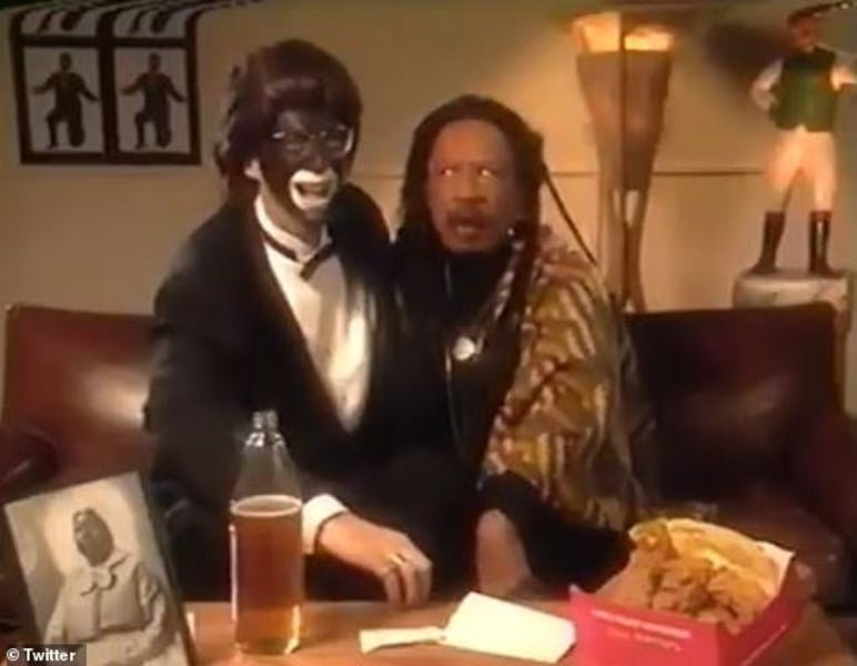Is Howard Stern racist for wearing blackface and using the N-word in a comedy skit?