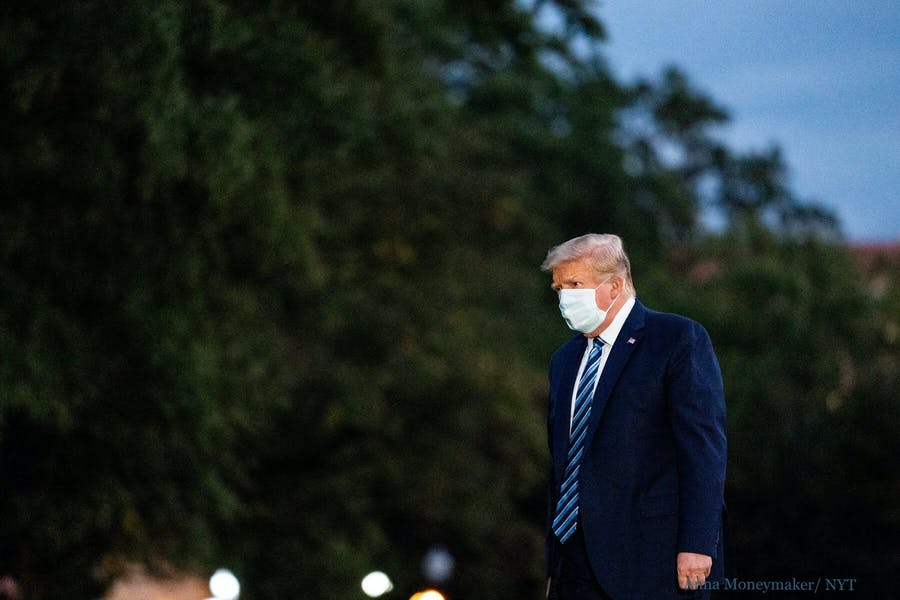 Should Trump continue his presidential duties while infected with COVID?