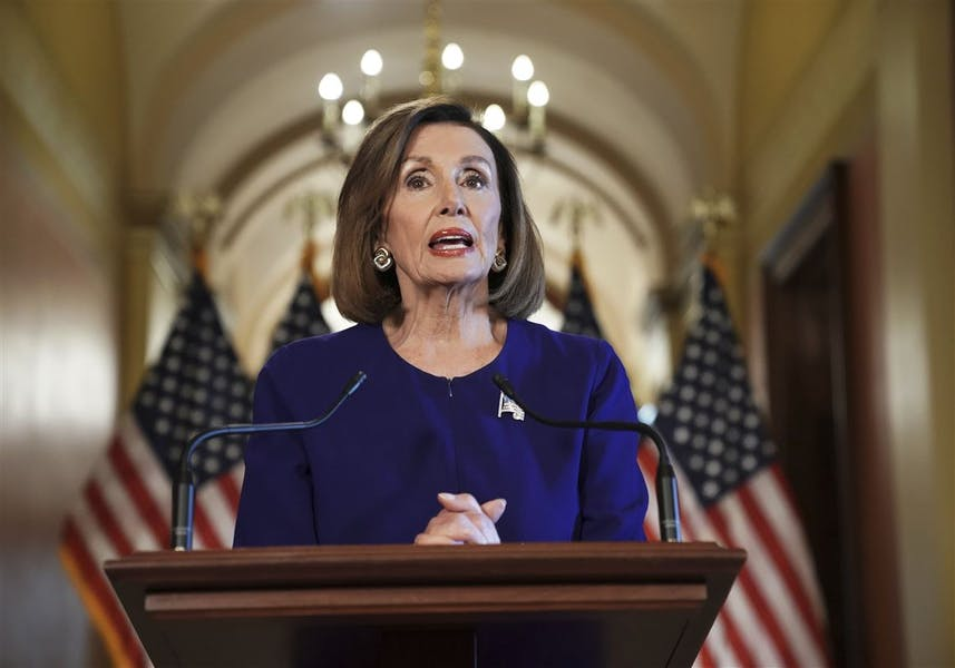 Is Pelosi right to propose using the 25th amendment to remove a president from office?