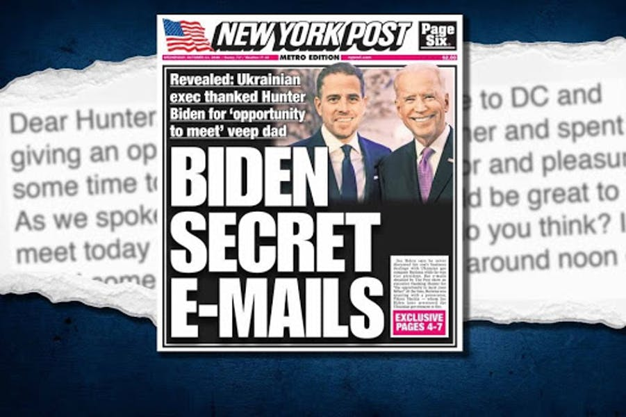 Are Facebook and Twitter interfering in elections by blocking NY Post's Hunter Biden articles?
