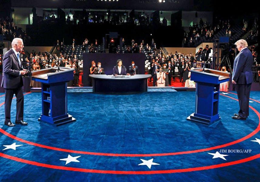 Did Biden or Trump perform better in the final Presidential debate?