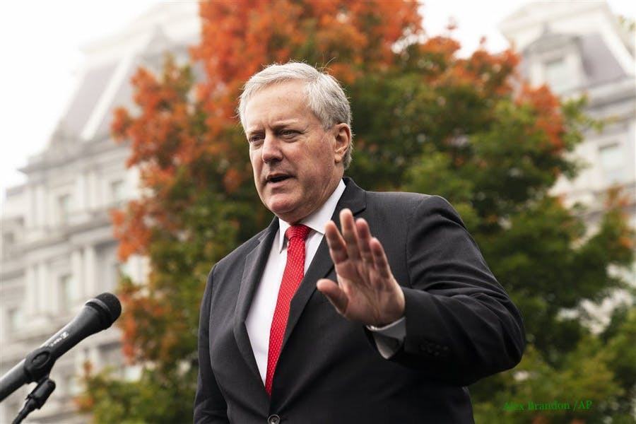 Is WH Chief of Staff Meadows right to say we can't control the pandemic?