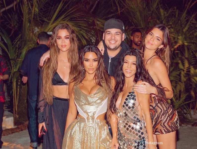 Is Kim Kardashian West wrong to post about her island birthday party?