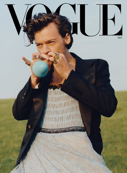 Is Candace Owens right to call out Harry Styles for wearing a dress in Vogue?