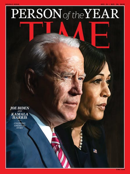 Is Time magazine right naming Joe Biden and Kamala Harris 'Person of the Year'?