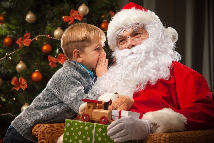 Is it right to lie to children about Santa Claus?