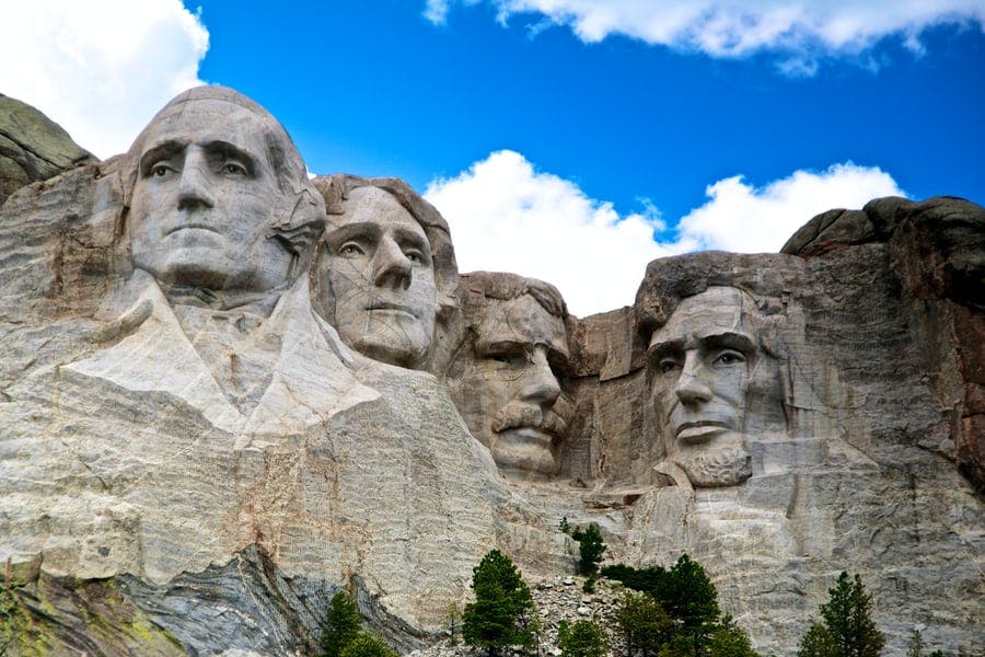 Should the Presidential carvings on Mt. Rushmore be removed?