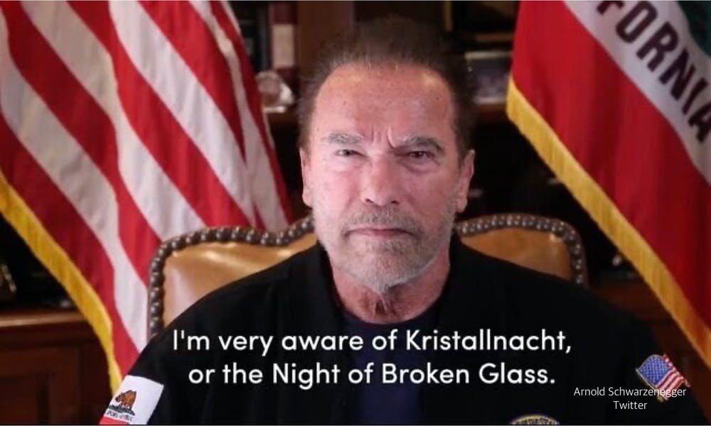 Is Schwarzenegger right comparing Capitol riot to Germany's Kristallnacht?