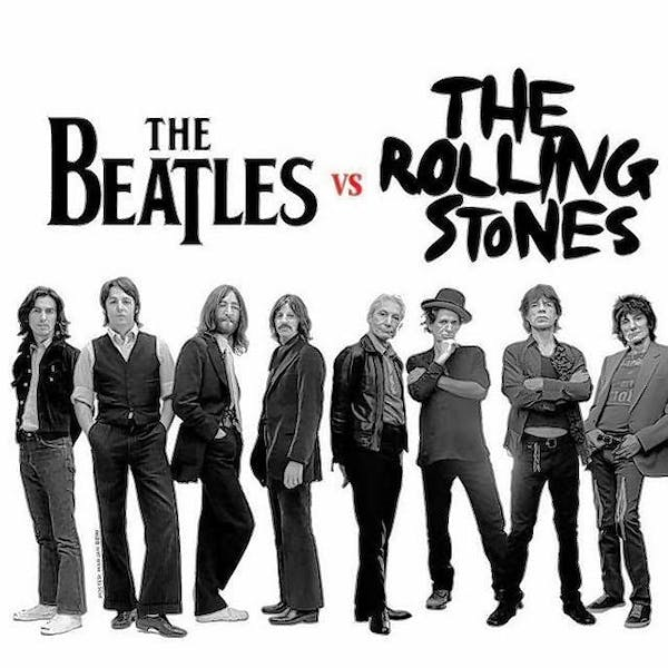 Who is better: The Beatles or The Rolling Stones?