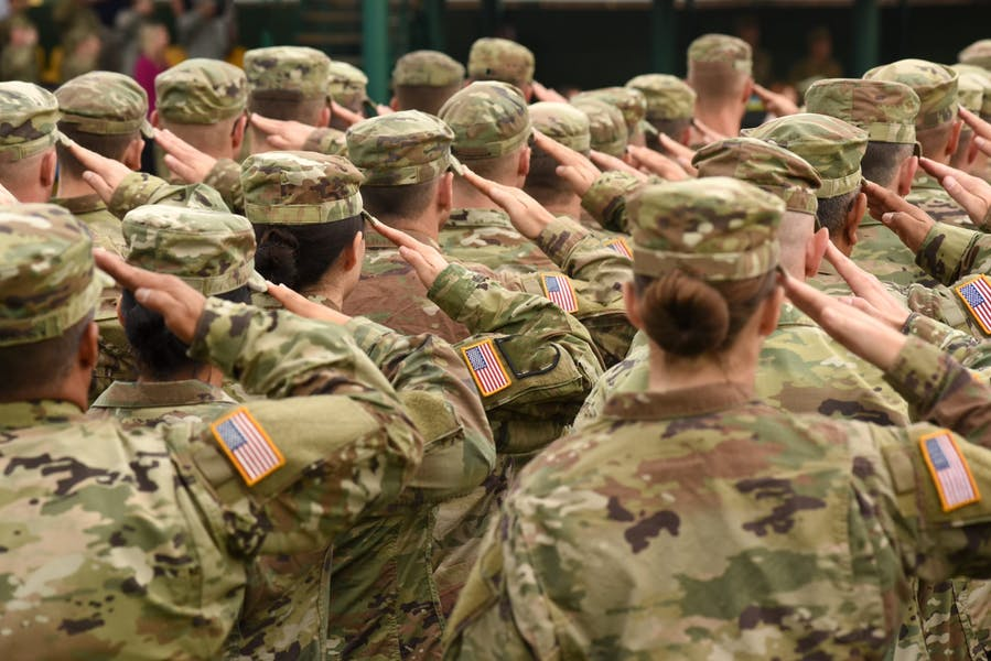 Should men and women be held to the same standards in the military?