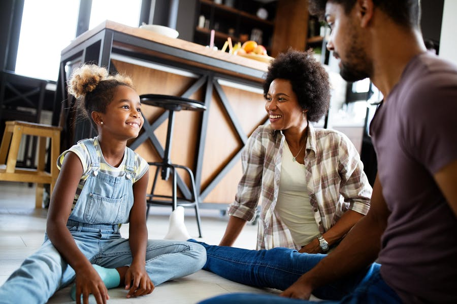 Is it okay for children to call parents by their first name?