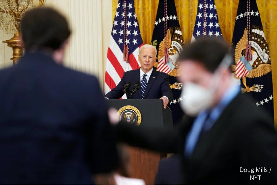 Is Biden right to blame Trump for immigration crisis?
