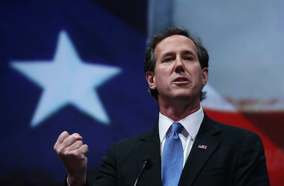 Is Rick Santorum right America was founded on 'faith and freedom?'