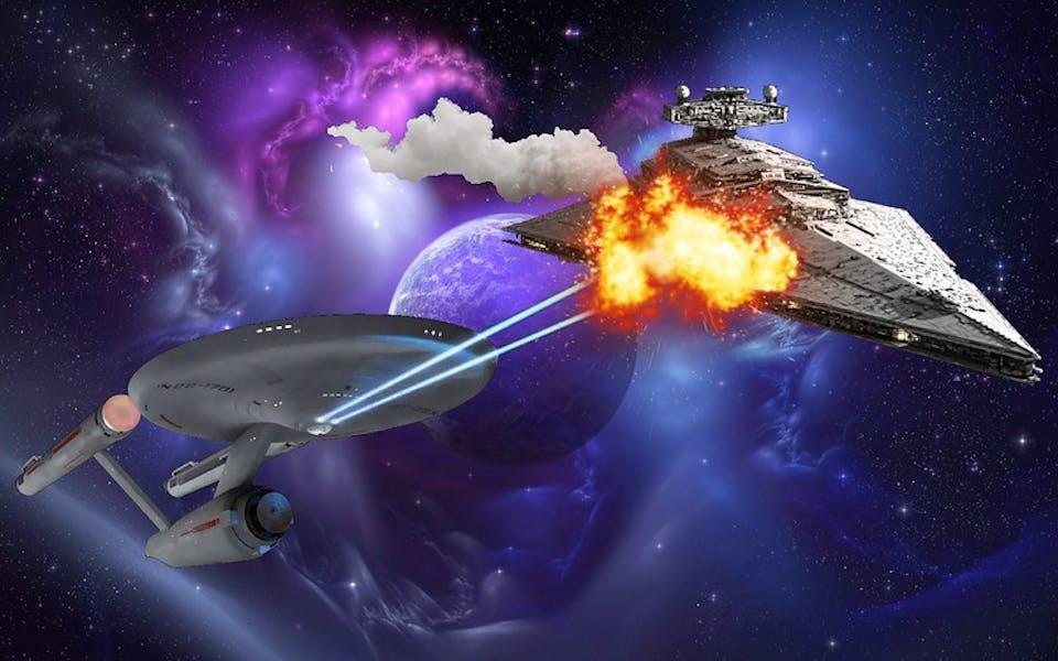 Is Star Trek better than Star Wars?