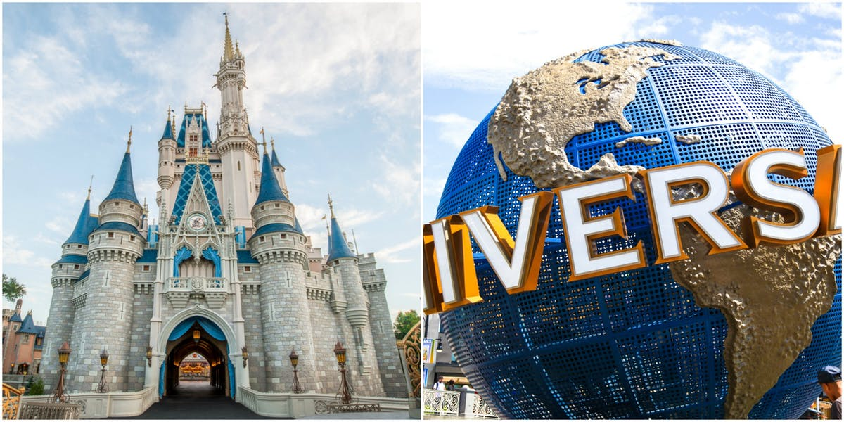Which is better: Disney or Universal theme parks?