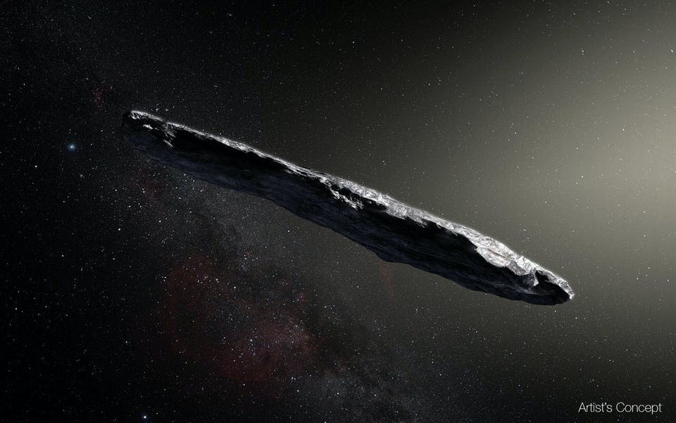 Could 'Oumuamua have been an alien technology?