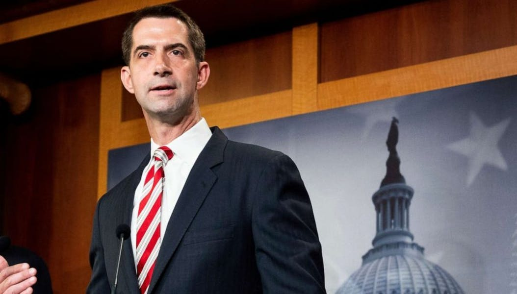 Is Sen. Cotton right to criticize NYT for suggesting American flag 'divisive'?