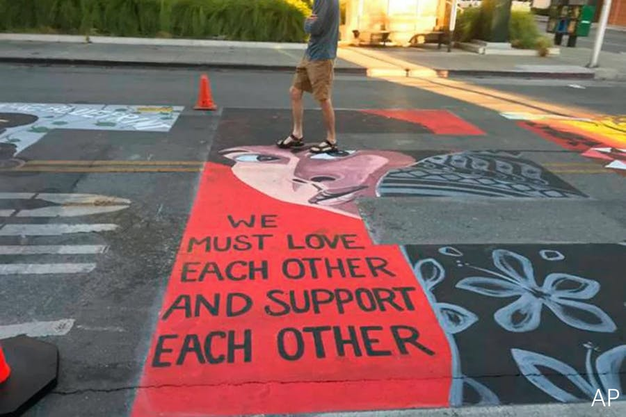 Are CA police right to sue Silicon Valley over BLM mural?