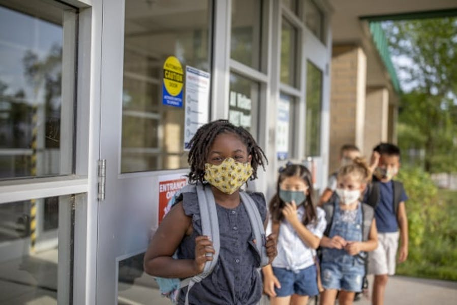 Is AAP right all children older than 2 should wear masks in school?