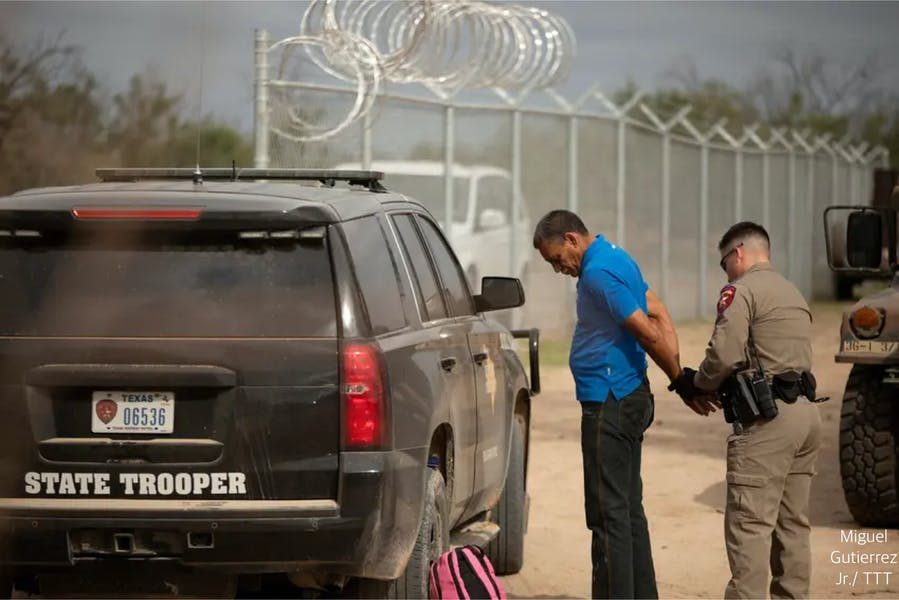 Is TX right to initiate migrant traffic stops based on 'reasonable suspicion?'