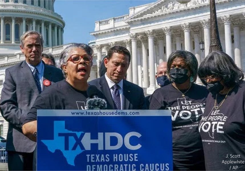 Is NAACP right to ask DOJ investigate arrest warrants for Texas lawmakers?