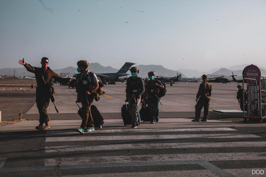 Is Pentagon right to transport up to 22,000 Afghans to US?