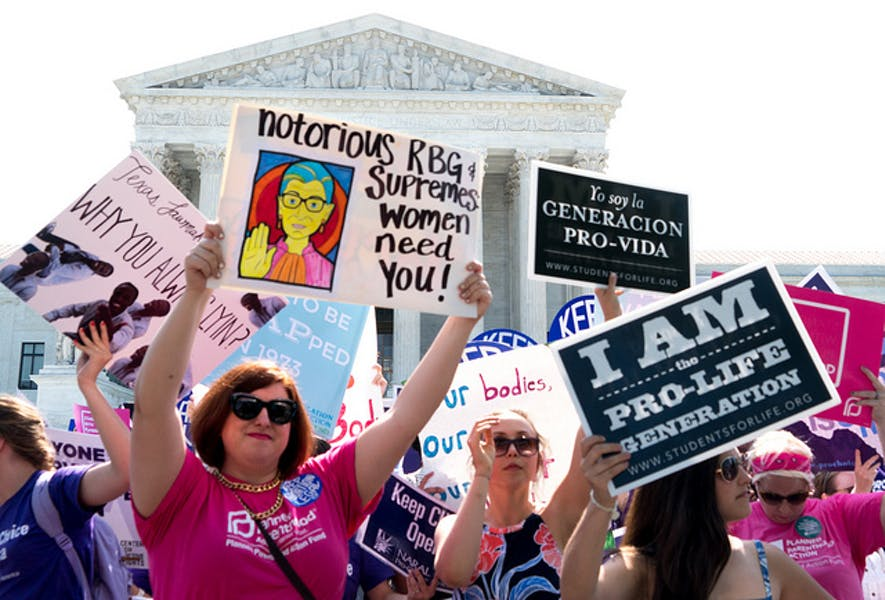 Is TX law banning most abortions past six weeks right?