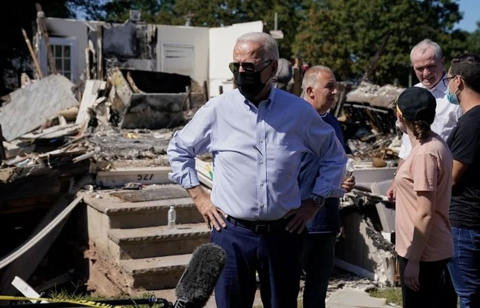 Is Biden right to link Northeast storm to climate change?