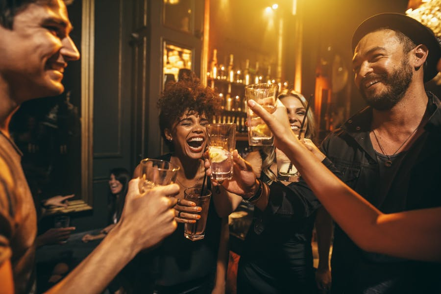 Are bars/clubs good places to start relationships?