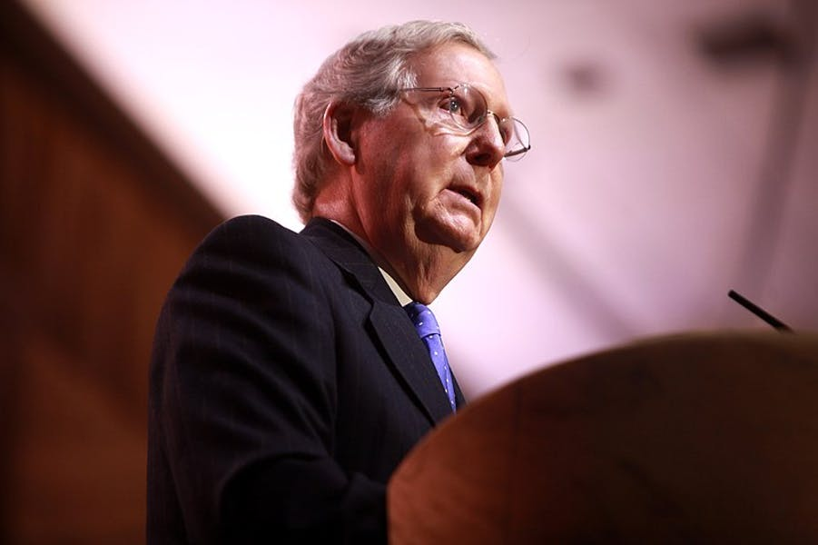Is Sen. McConnell right to oppose debt ceiling increase?